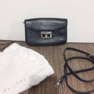 Authentic MARC BY MARC JACOBS Leather Cross-Body Purse