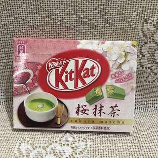 日本櫻抹茶KitKat