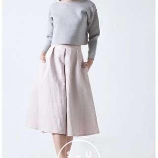 Cotton Ink studio Cream Pink Skirt