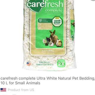 Carefresh complete Ultra White Natural Pet Bedding