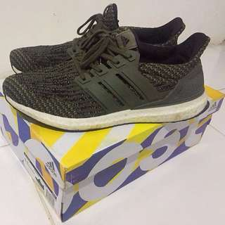REPRICE!! Adidas Running Ultraboost Army Green