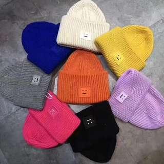Acne Studios羊毛線帽子