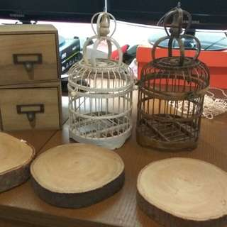 Wooden decorative items