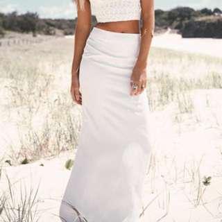Sabo Skirt Formal Lux Skirt Wedding 👰 Xs Sonnet