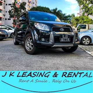 *NO CONTRACT NO DEPOSIT* TOYOTA RUSH 1.5A SUV UBER GRAB ECONOMIC CHEAP PROMO RENTAL