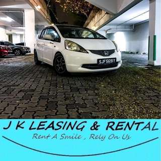 *NO CONTRACT NO DEPOSIT* HONDA FIT JAZZ 1.3A SPORTY UBER GRAB HATCHBACK PROMO