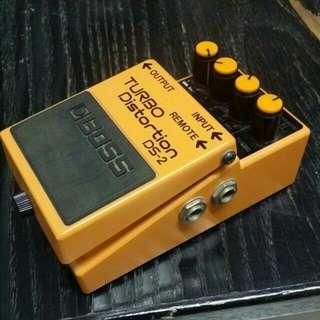 BOSS DS-2Distortion pedal