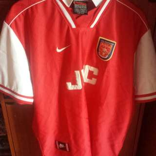 2f4d919e7 vintage arsenal nike made in uk jersey