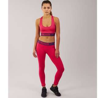 Brand new GYMSHARK WOMENS FIT LEGGINGS CRANBERRY/RICH PURPLE