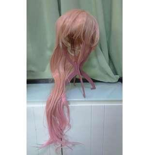 粉紅色假髮