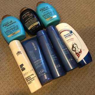 Assorted hair products for free