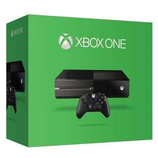 Xbox One 500gb(like new) + Halo 5