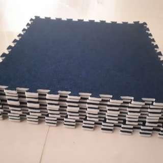 """6 sets - 12x12"""" puzzle carpets"""