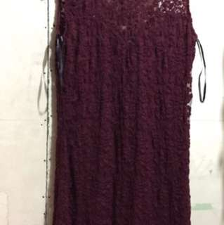 Forever 21 Maroon Party Dress
