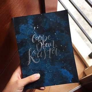 Personalized Kraft Notebook
