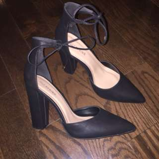 Call It Springs Black Heels
