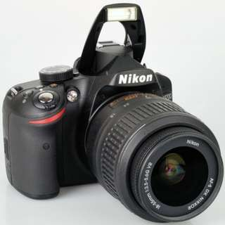 Full Kit Nikon D3200 with 18-55mm Lens