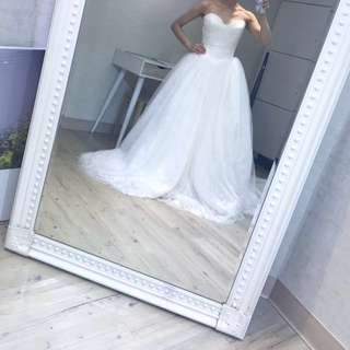 經典款 白紗 自助婚紗