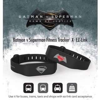 Batman v Superman Fitness Tracker X EZ-Link