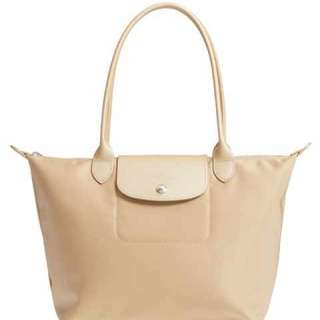 Longchamp Planetes -Beige color