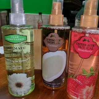 Body spray and body wash