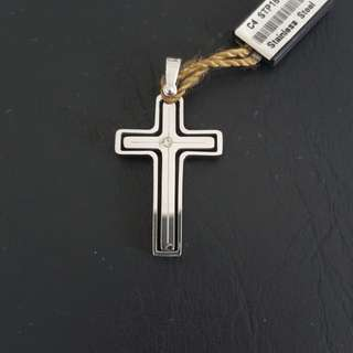 Cross stainless stain pendant