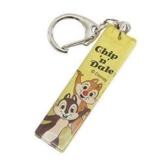 日本Chip n Dale 壓膠力膠鎖匙扣 生日卡 禮物