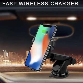 Car Wireless Fast Charger 📳iPhone X/8+/8/ Samsung S8+/S8/S7/S5/Note 7/8📳