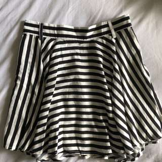 New Striped Skirt