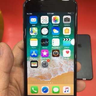 Harga NET iPhone 7 32GB Black Second Lengkap Fullset