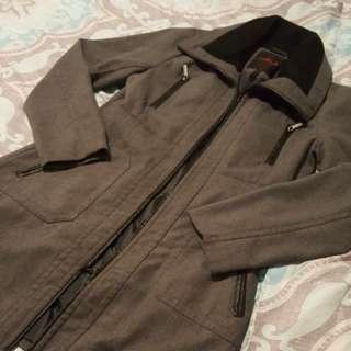 Gray Coat Size L