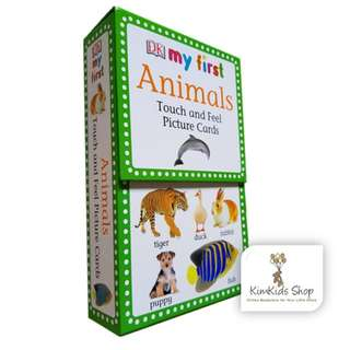 DK Animals Touch and Feel Picture Flash Cards