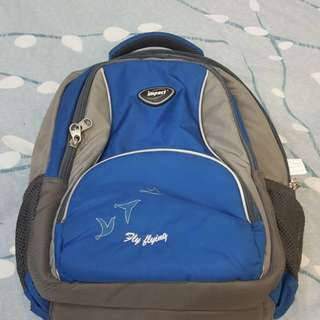 Impact School bag for back support