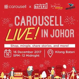 Carousell LIVE! in Johor🎉