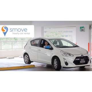 Smove - Hourly Car Rental