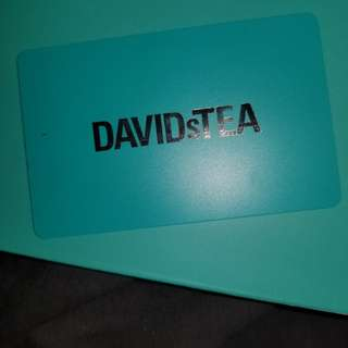 Davids Tea gift card