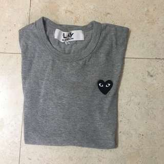 CDG t-shirt in grey