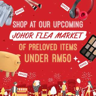 Carousell LIVE! in Johor: Flea Market - Preloved Items Under RM50