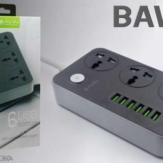 Bavin Multi-functional charger/Extension cord