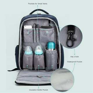Multipurpose Maternity Daddy Diaper Bag
