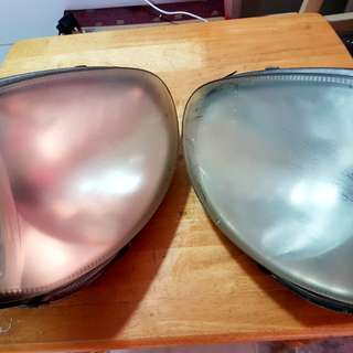 Original used Kelisa L-R head lamp