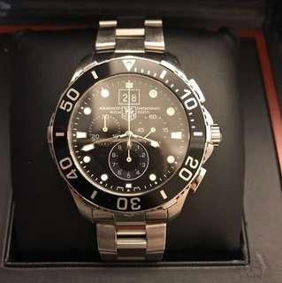 (P) Men's TAG Heuer Aquaracer Grande-Date Quartz Chronograph