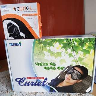 Curiel Warm & Cold Eyemask Massage Therapy