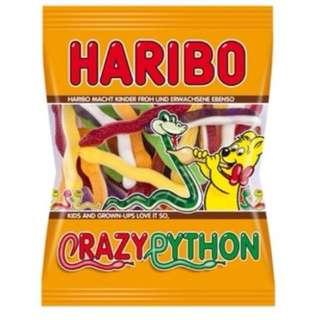 德國Haribo軟糖 - 瘋狂蟒蛇175g