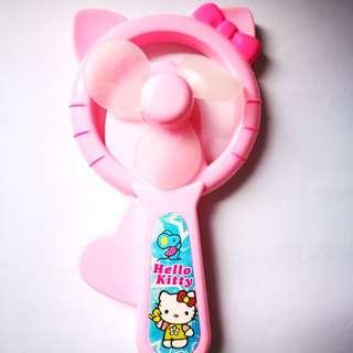 🆕 Pink Hello Kitty Personal Toy Fan