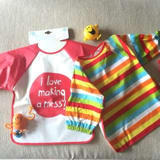 2 Coveralls for Messy Play