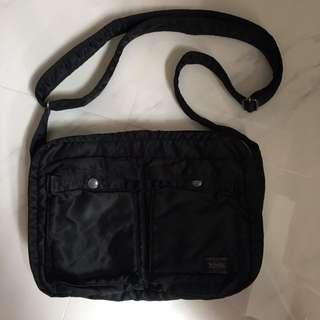 Porter 黑色百搭型格斜孭袋 Vintage Classic jambo boy Bag 斜孭袋 側咩袋 銀包 卡片套 cardholder