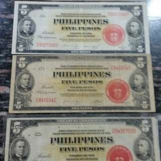 Lot sale Banknotes