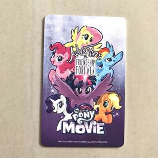 My Little Pony MLP Ezlink Card