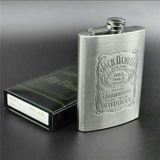 7oz Stainless Steel Hip Liquor Whiskey Alcohol Flask
